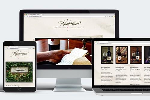 Handwritten Website